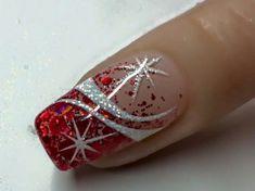 Pink Nails, My Nails, Christmas Nail Art, Nail Designs, Xmas, Nail Desighns, Nail Design, Pink Nail, Nail Pink