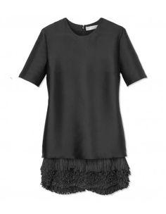 Stella McCartney Fringed Mini Dress - Shop ways to style the new It bag EVERY fashion girl is wearing.   http://shop.harpersbazaar.com/in-the-magazine/ferragamo-fiamma