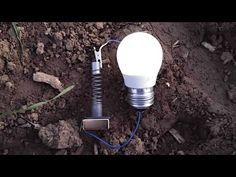 Free Energy Generator feeding LED bulb. Real free energy resonator - Free energy device - YouTube