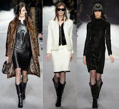 Fantasy Fashion Design: Tom Ford colección de moda otoño-invierno 2014-201...