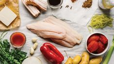 Catfish stew—is it Southern? I mean, what is Southern food? You got six months for a chat over a number of cases … Southern Recipes, Southern Food, World Recipes, My Recipes, Catfish Stew, Fish List, Baked Fish, Crab Cakes, Freshwater Fish