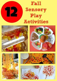 12 Fall Sensory Play Activities for Kids. Sensory Play is a great activity to set up to soothe tired kids after school.