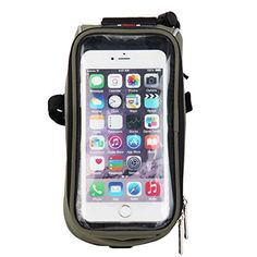 Chaohuei Multi-function Qualified Handlebar Bike Rack Bag Bicycle Ride Pack Package for Touch Screen Mobile Phone Dark Green BP-051 * Read more reviews of the product by visiting the link on the image.