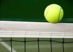 Tennis!  This is what fear is...  If it touches the net you always hope it goes over!!!