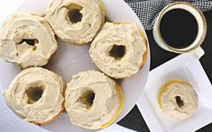 Moist and delicious, the best keto maple donuts recipe is perfect for summer and fall low carb donut emergencies. A gluten-free, sugar-free breakfast treat. Donut Flavors, Donut Recipes, Keto Recipes, Keto Foods, Keto Desserts, Fall Recipes, Healthy Sugar Cookies, Healthy Treats, Donut Icing