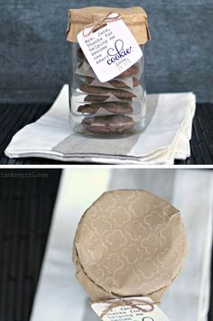 Cookie Teacher Appreciation Gift   Click Pic for 30 DIY Christmas Gifts in a Mason Jar for Men   Easy Christmas Gifts in a Mason Jar