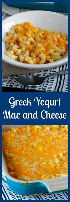 This version of Mac and Cheese is extra creamy, and a little bit healthier, thanks to the addition of Greek yogurt. The yogurt adds plenty of creaminess without adding too many calories. From @whatmegansmakng