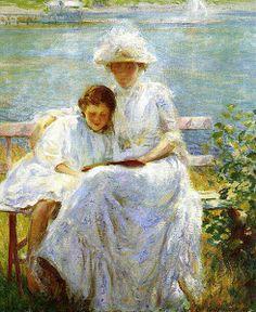 Sol de junho, 1902 Joseph De Camp (EUA, 1858-1923) óleo sobre tela