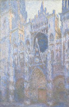 Claude Monet, 'Rouen Cathedral, West Façade,' 1894, National Gallery of Art, Washington, D.C.
