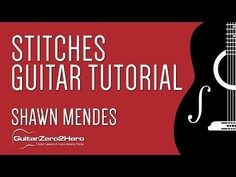 Stitches Shawn Mendes Guitar Lesson Acoustic - YouTube