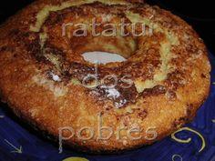 ratatui dos pobres: Bolo de claras com crosta de canela