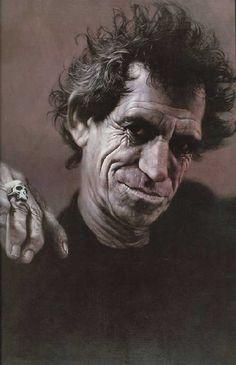 [ Keith Richards ] - artist: Sebastian Kruger - website: http://sebastian-kruger-news.blogspot.com/
