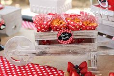 Minnie Mouse Birthday Party via Kara's Party Ideas | KarasPartyIdeas.com (17)