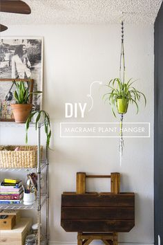 Macrame Plant Hanger - DIY Craft Kits, Monthly Craft Projects, Craft Supplies, Subscription Box | Whimseybox