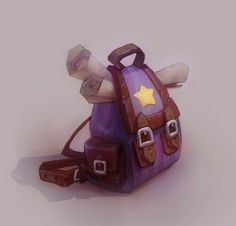 ArtStation - Magical Backpack, Veronika Firsova