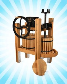 American Harvester Cider Press & Grinder (* Back Order, Shipping February 2017)