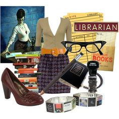 All you need for a Librarian costume!