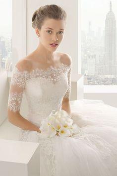 Rosa Clará gown | #wedding