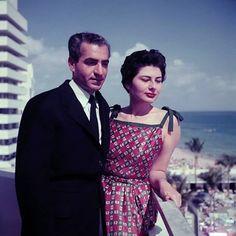 پادشاه فقیــــــد و ملکــــــه ثریا اسفنـــــدیاری ( میامی  1955 )