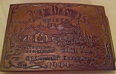 JACK DANIELS BELT BUCKLE SOUR MASH WHISKEY ST LOUIS EXPOSITION 1904 MINTED BRASS #JackDaniels #Novelty