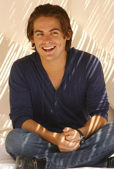 And this is Aidan's smile...on the rare occasion when he has something to smile about. (Kevin Zegers)