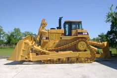 Earth moving equipment.. strangly enough driving one is on my bucket list