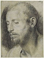 Study of the Head of a Bearded Man, Giovanni Girolamo Savoldo, about 1533