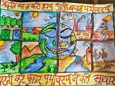 Stop pollution save earth poster with hindi slogan~Shruti💖 #drawing#poster#earth#saveEarth#pollution#slogan#hindi#hindiSlogan#stop#colorful#earthday