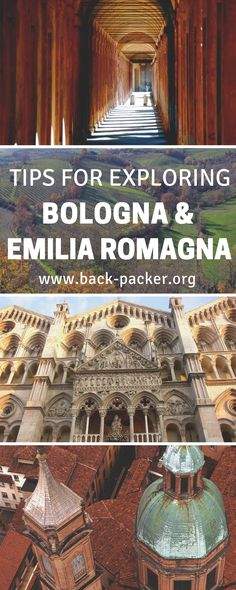 A guide to some of the best things to do in Bologna, Italy as well as the beautiful Emilia Romagna region in general. Top restaurants, food (think pasta!) and nightlife, explore the architecture in old town, take in the views from above, drive a Ferrari and more. Travel in Italy. | Back-packer.org #Bologna #Italy