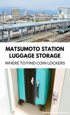 Is it easy to find coin lockers in Matsumoto? Backpacking JAPAN travel tips Japan Travel Tips, Asia Travel, Bus Station, Train Station, Ways To Travel, Travel Ideas, Winter In Japan, Bus Terminal, Tourist Information