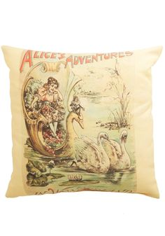 Home & Gifts - World of Wonderland Pillow