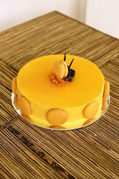 A mango mousse cake by Talita Setyady Recipe at talitaskitchen.com