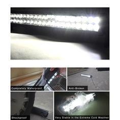32 Inch 180W Dual Row Off Road LED Light Bar for Trucks - Yitamotor