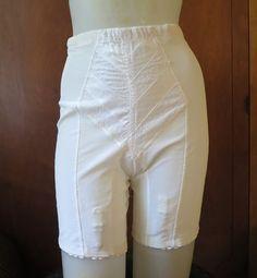Vintage Rago Panty Girdle XL 31-32 waist - Firm Hold, satin panel, nylon crotch