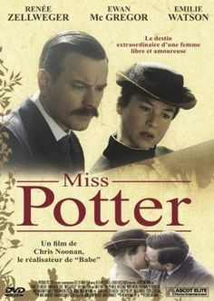 'Miss Potter' (2006) starring Renee Zellweger as famed children's book author and illustrator Beatrix Potter and Ewan McGregor as her editor and fiance Norman Warne.