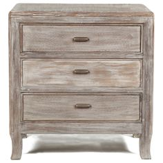 Cosmo 3-drawer Nightstand | Overstock.com Shopping - Great Deals on Kosas Collections Nightstands