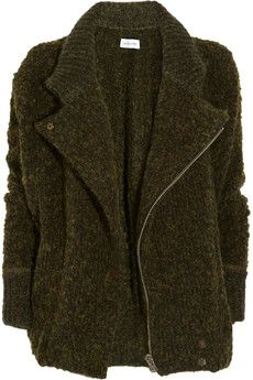 Isabel Marant - I could crawl in to this sweater and stay there all winter.