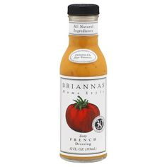 BRIANNAS DRSSNG ZESTY FRENCH, 12 OZ *** Details can be found at : Dinner recipes.