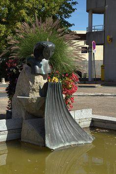 Le Haillan - Bernard Vié - Les lavandières. Aquitaine