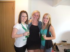 St. Patrick's Day was a blast with Abby & April! :)