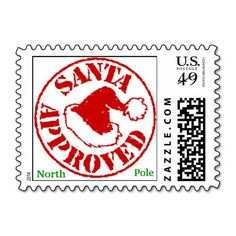 FREE printable North Pole Special Delivery Printable - stamps christmas santa clos Google Search