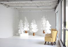 love the trees, the chairs and the photographer
