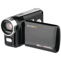 Bell+howell 5.0 Megapixel Dv200hd High-definition Digital Video Camcorder