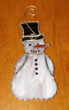 Christmas+Holiday+Stained+Glass+Suncatcher++Winter+by+GLASSbits,+$25.00