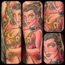 Princess Leia Tattoo 4