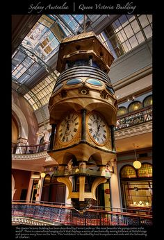 """The Queen Victoria Building has been described by Pierre Cardin as """"the most beautiful shopping centre in the world"""".... (3rd stop on the Hop-on Hop-off route)"""