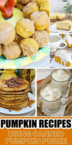 Make these delicious recipes using pumpkin puree in a can this fall. Chili Recipes, Apple Recipes, Pumpkin Recipes, Fall Recipes, Soup Recipes, Recipe Using Pumpkin, Pumpkin Uses, Spice Things Up, Baked Goods
