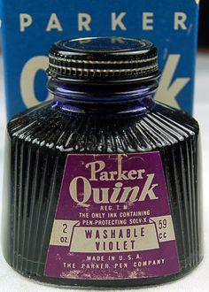 Vintage Parker Quink Violet