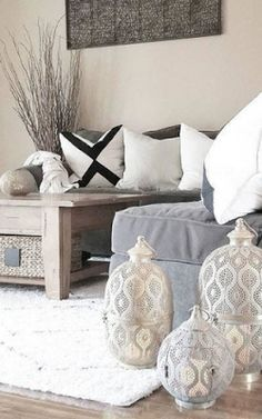 The Bohemian Home Home Living Room, Apartment Living, Anthropologie Home, Piece A Vivre, Moroccan Decor, Moroccan Interiors, Dream Decor, Interiores Design, My Dream Home