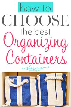 How to Choose the Right Organizing Containers - Cleaning Hacks Game Organization, Refrigerator Organization, Entryway Organization, Container Organization, Storage Tubs, Towel Storage, Storage Spaces, Craft Storage, Storage Ideas